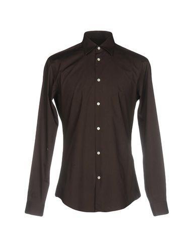 Peuterey Shirts In Dark Brown
