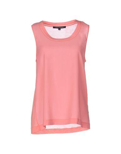 French Connection Top In Salmon Pink