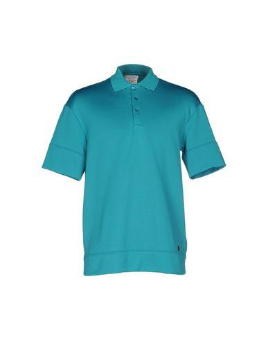 Versace Polo Shirts In Turquoise