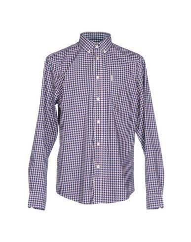 Ben Sherman Patterned Shirt In Dark Blue