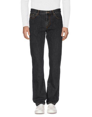 Versace Denim Pants In Black
