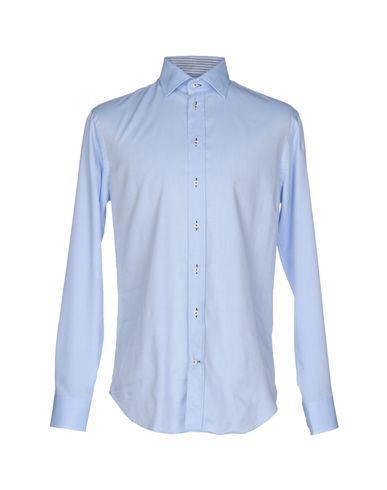 Armani Collezioni Shirts In Sky Blue