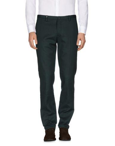 Versace Casual Pants In Dark Green