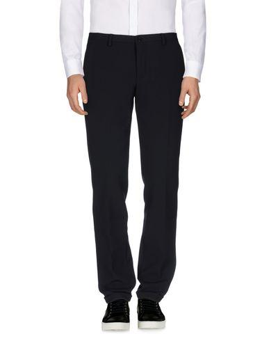 Versace Casual Pants In Dark Blue