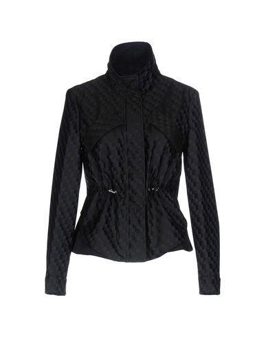 Armani Collezioni Jackets In Dark Blue