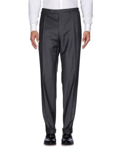 Canali Casual Pants In Steel Grey