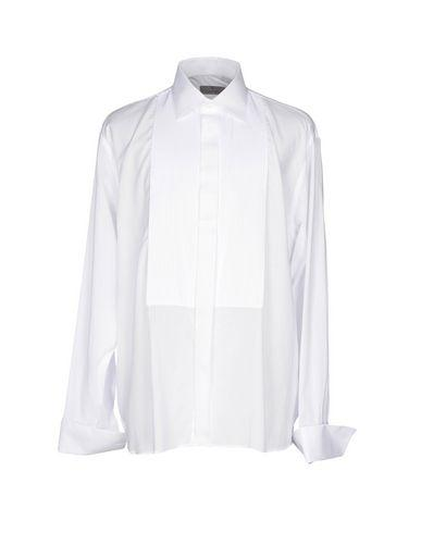 Canali Solid Color Shirt In White