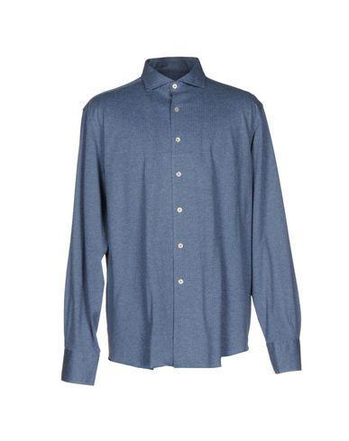 Canali Shirts In Slate Blue