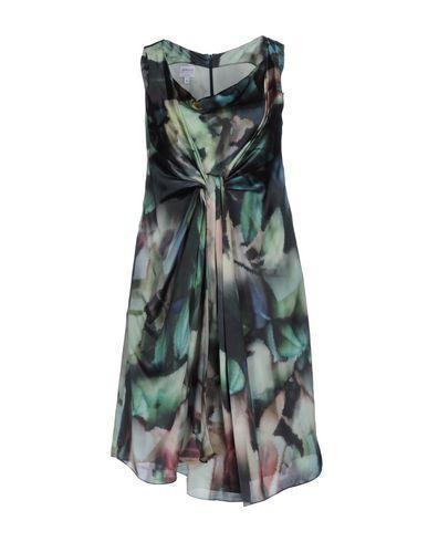 Armani Collezioni Short Dresses In Green