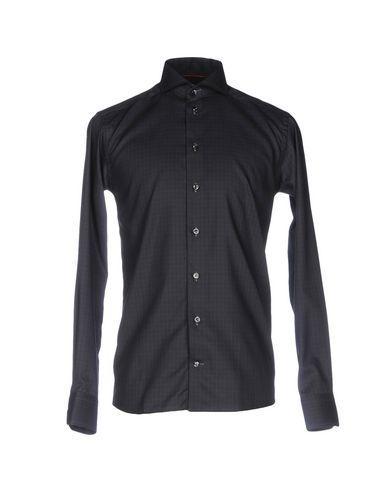 Eton Shirts In Steel Grey