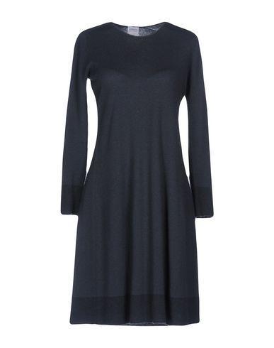 Armani Collezioni Short Dresses In Lead