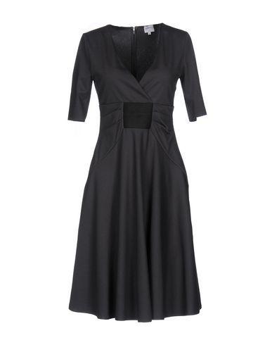 Armani Collezioni Short Dress In Grey