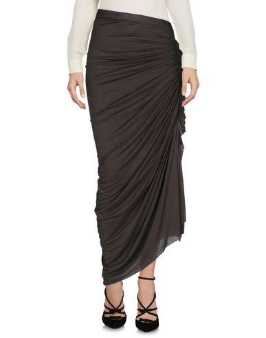 Rick Owens 3/4 Length Skirts In Lead