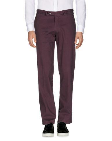 Canali Casual Pants In Deep Purple