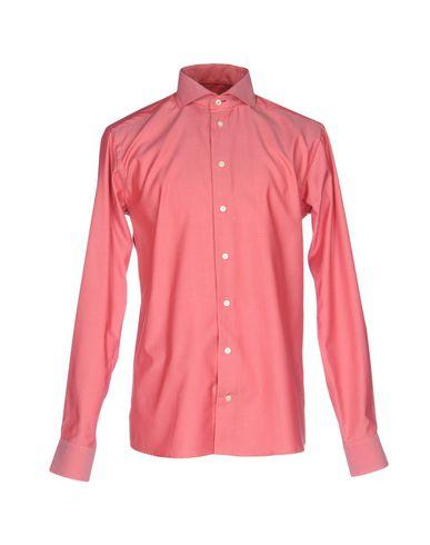 Eton Solid Color Shirt In Red