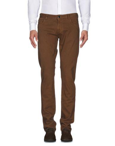 Canali Casual Pants In Camel