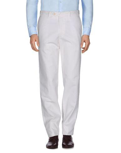 Canali Casual Pants In White