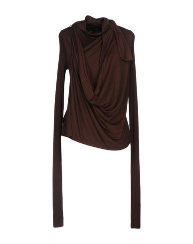 Rick Owens Cardigan In Cocoa