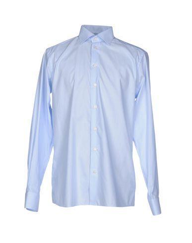 Eton Checked Shirt In Sky Blue