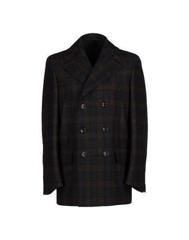 Canali Coat In Dark Brown