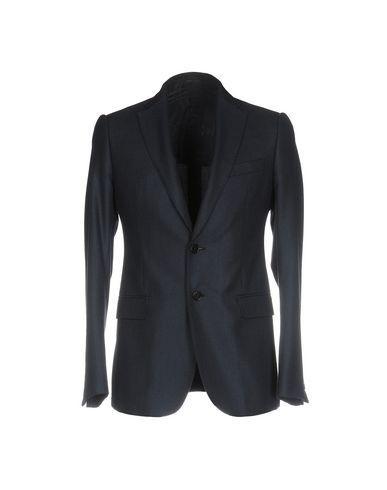 Armani Collezioni Blazer In Dark Blue