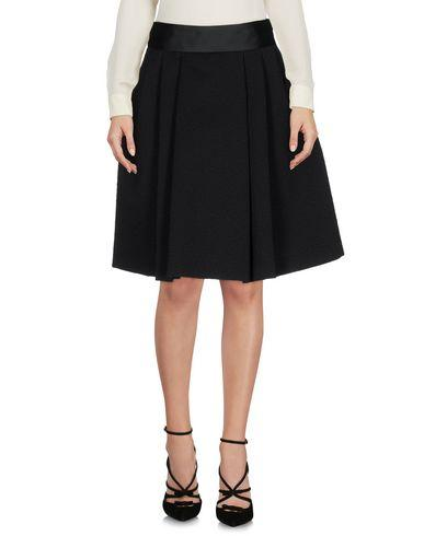 Armani Collezioni Knee Length Skirt In Black