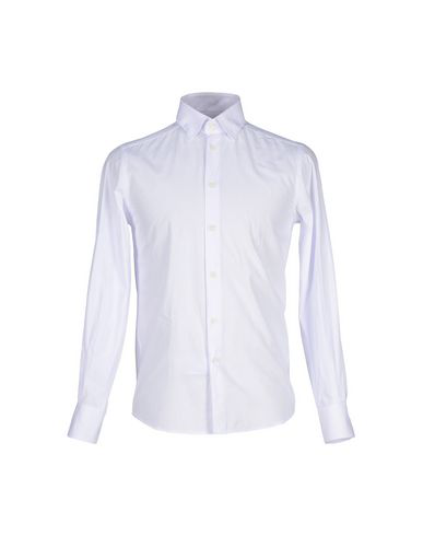 Versace Solid Color Shirt In White