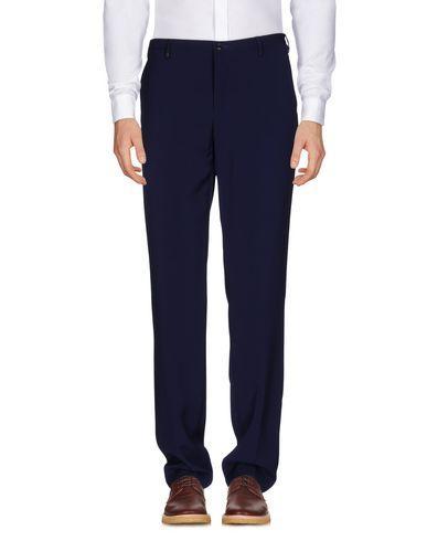 Versace Casual Pants In Dark Blue