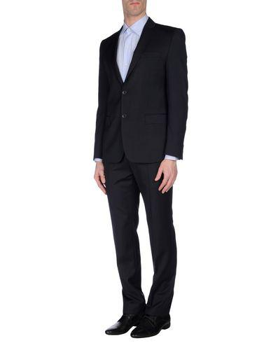 Versace Suits In Dark Blue