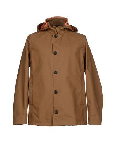 Armani Collezioni Full-length Jacket In Camel