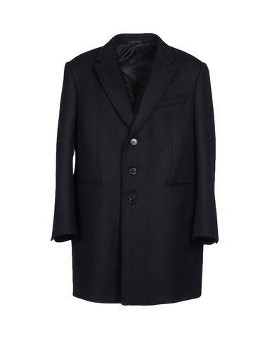 Armani Collezioni Coat In Dark Blue
