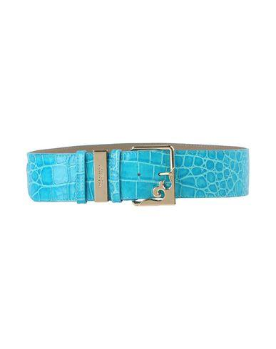 Versace High-waist Belt In Turquoise