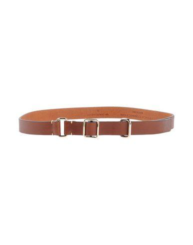 French Connection Thin Belt In Brown