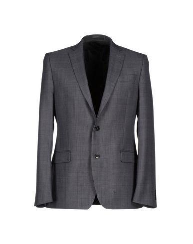 Versace Blazer In Steel Grey