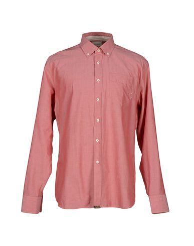 Billy Reid Solid Color Shirt In Coral
