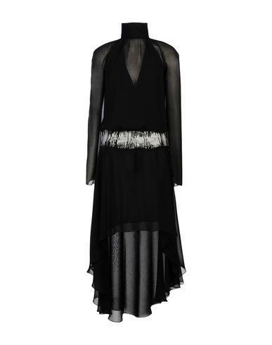 Versace Short Dress In Black