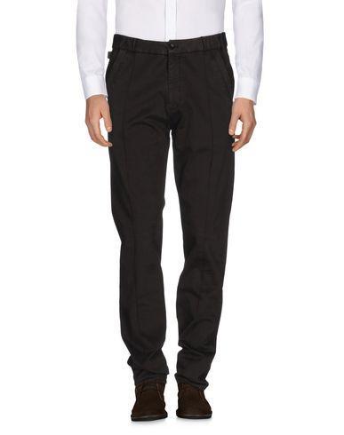 Armani Collezioni Casual Pants In Dark Brown
