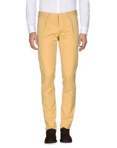Incotex Casual Pants In Yellow