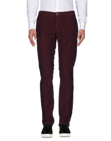 Incotex Casual Pants In Maroon