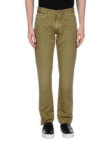 Incotex 5-pocket In Military Green