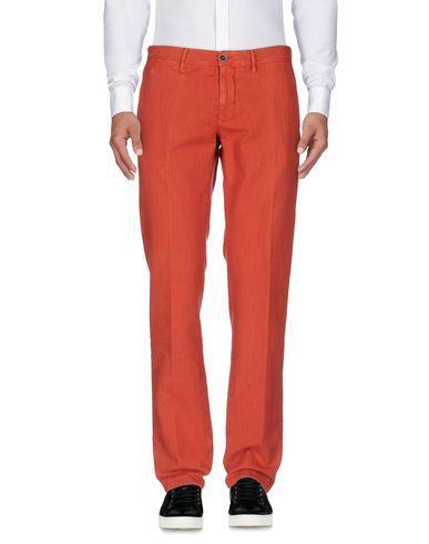 Incotex Casual Pants In Rust