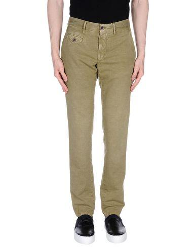 Incotex Casual Pants In Military Green