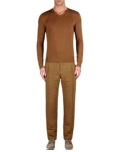 Armani Collezioni Casual Pants In Camel