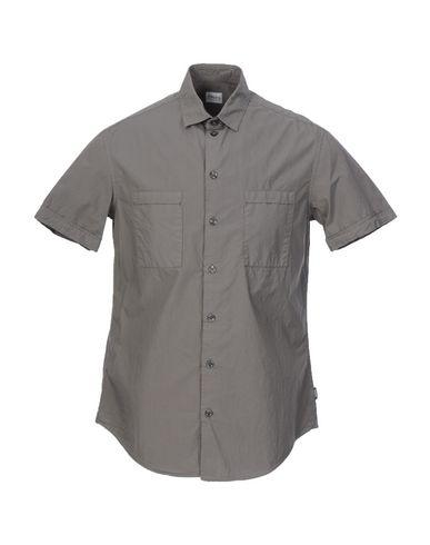 Armani Collezioni Solid Color Shirt In Khaki