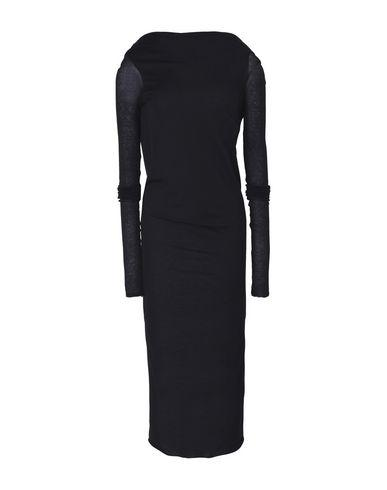 Rick Owens 3/4 Length Dresses In Black