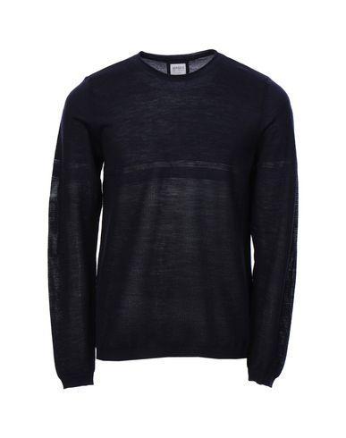 Armani Collezioni Sweaters In Dark Blue