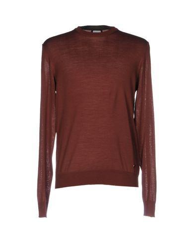Armani Collezioni Sweater In Maroon