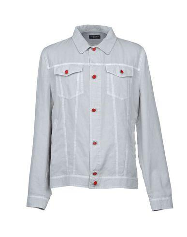 Kiton Jacket In Light Grey