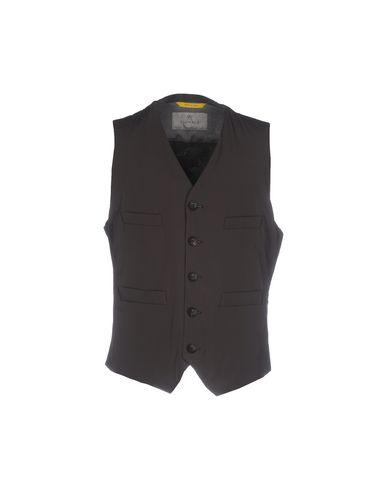 Canali Suit Vest In Dark Brown