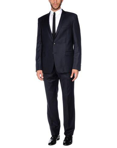 Versace Suits In Dark Blue